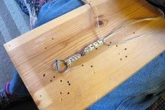 weaving-a-keychain