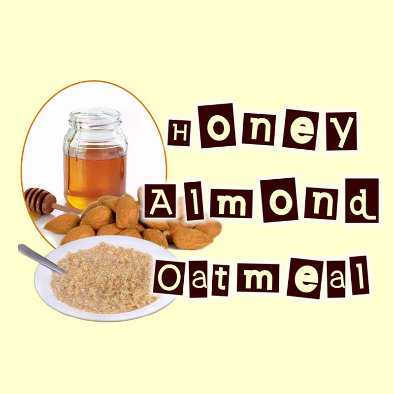 Honey Almond Oatmeal