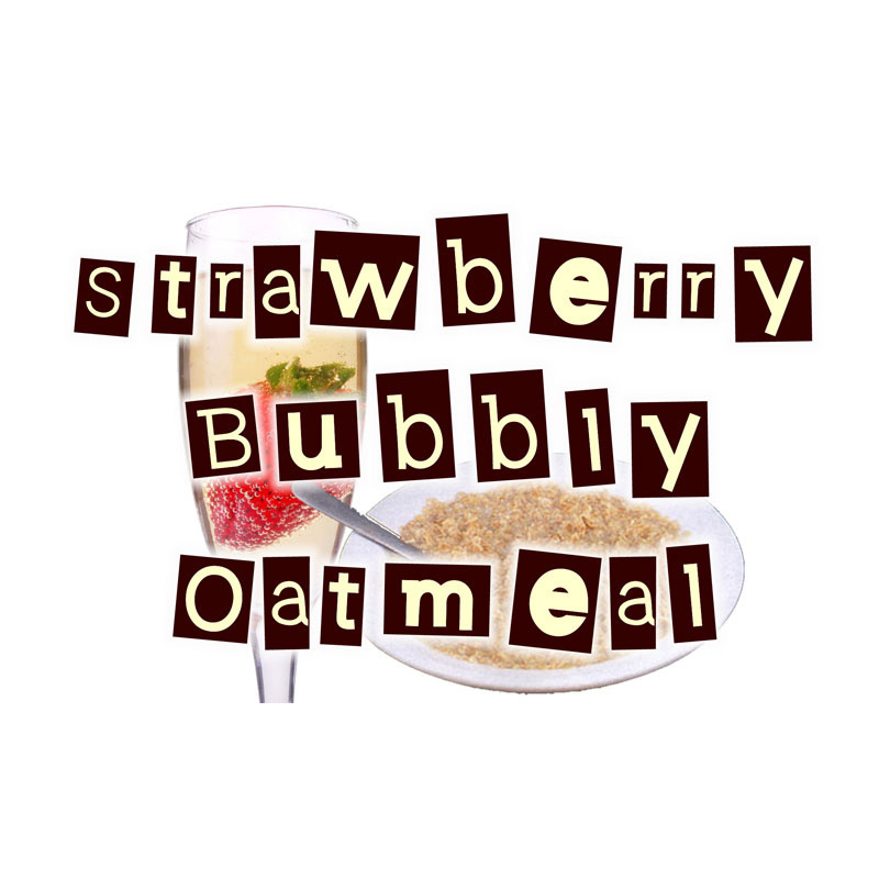 Strawberry Bubbly Oatmeal